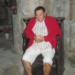 Saint Yves méditant