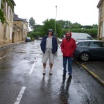 Rions sous la pluie