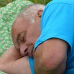 Après un bon repas..une bonne sieste .