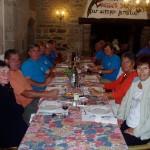 repas au manoir de Saint Péran